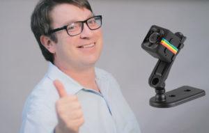 MicroCamera mini cámara, cómo usarlo, como funciona
