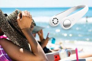 NeckCooler draagbare halsventilator, hoe het te gebruiken, hoe werkt het